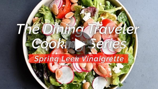 How To Make Spring Leek Vinaigrette (Dressing) with Chef Orlando Rodriguez in FLX Wine Country