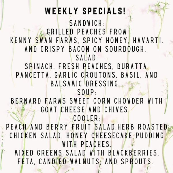 Born and Raised Weekly Specials!