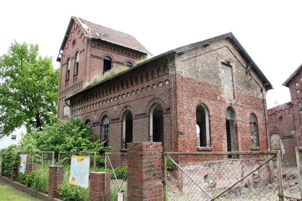 Industriegeschichte in Nauen. (Foto: Marlies Schnaibel)