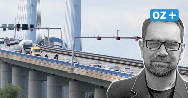 Tempolimit auf der Rügenbrücke? Ja, runter mit dem Unfallrisiko!