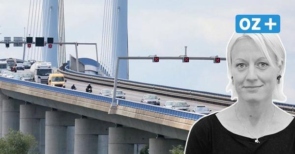 Tempolimit 60 auf der Rügenbrücke? Gut gemeint, aber falscher Ansatz