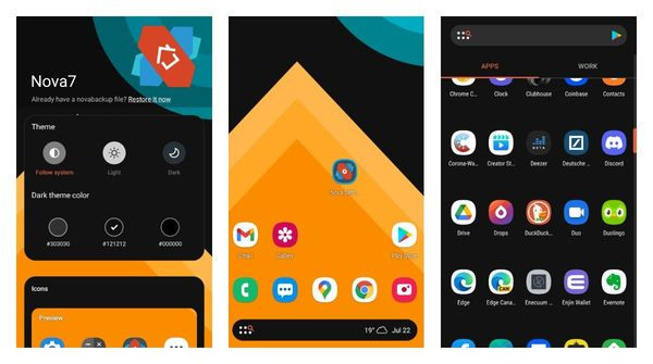 Nova Launcher Beta 7 got a visual overhaul along with a pack of new features