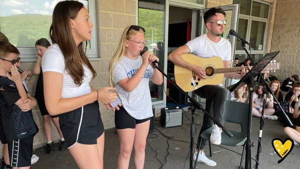 A sing-a-long to remember // Wellbeing Day 2021