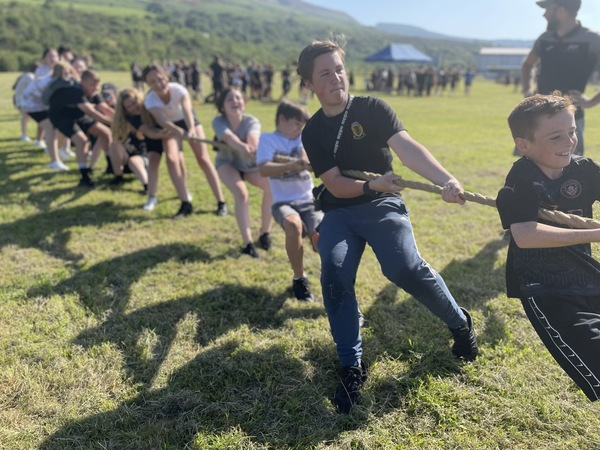 The Tug-of-war heats up on the playing field // Wellbeing Day 2021