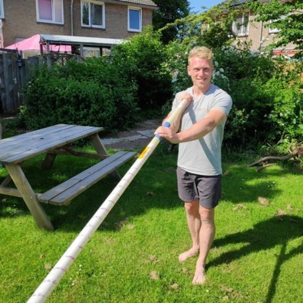 Zaanse Olympus 2: 'Ik ben er klaar voor' Menno Vloon - Polsstokhoogspringer