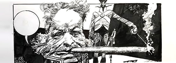 Sergio Toppi - Original Comic Art