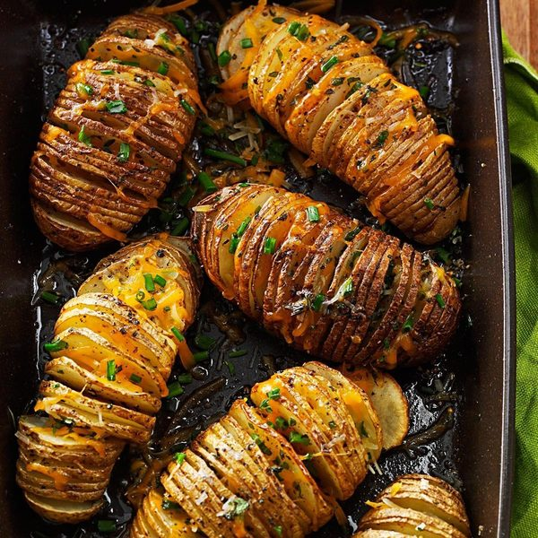 Cheese & Herb Potato Fans Recipe: How to Make It