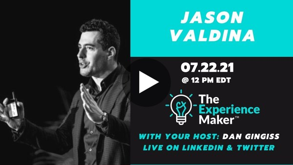 Building Customer Relationships with Jason Valdina