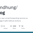 Hosting your own email forwarding service on AWS and manage it with Github Actions. maildog