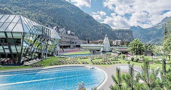 Gewinnspiel Alpine Wasserspiele im Ötztal