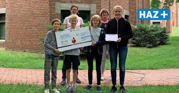 Warum vier Kinder aus Hannover dem Kinderkrankenhaus auf der Bult 248 Euro spenden