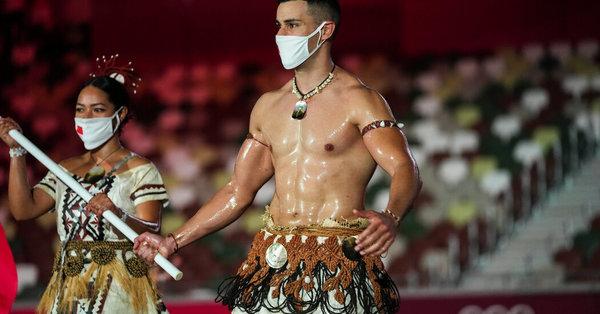 Pita Taufatofua, Tonga's Popular Flag Bearer and Olympian, Is Back for Tokyo