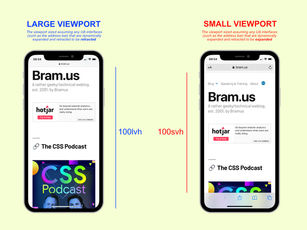 The Large, Small, and Dynamic Viewports