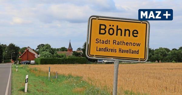 Böhne: Unterwegs im Ortsteil - eine turbulente Geschichte des Dorfes