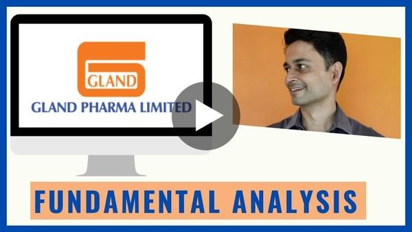 Gland Pharma Stock Analysis II | Fundamental Analysis | हिंदी