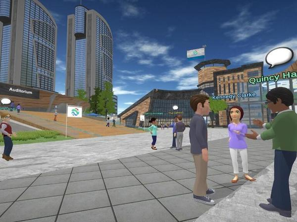 One company's virtual reality approach could end the debate over working from home vs. at the office