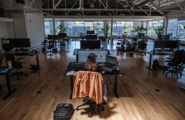 How one S.F. tech company is reopening its office with a workforce that is still mostly remote