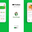 A Step-By-Step Guide To The Process Of Designing An App For Ordering Organic Produce, Directly From Farmers