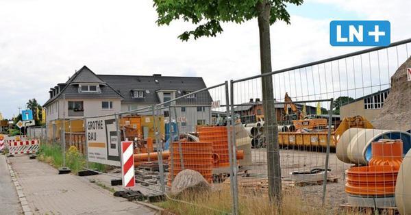 Lidl-Neubau in Eutin: Bürgermeister-Steenbock-Straße wochenlang gesperrt
