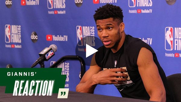 """""""When you focus on the past, that's your ego."""" Giannis Antetokounmpo Life Lessons"""