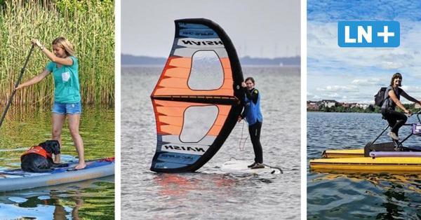 Action an der Ostsee: Diese Wassersportarten werden an der Lübecker Bucht angeboten