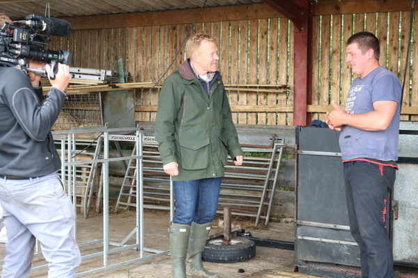 Adam Henson from Countryfile talks to Joe, one of the first to graduate from Future Roots