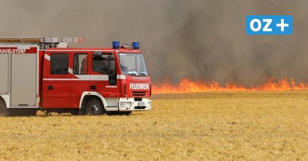 Nach Großfeuer bei Rostock: Hat ein Quadfahrer den Brand ausgelöst?