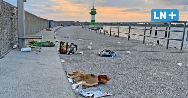 Müll und Vandalismus: Droht Travemünde zum Party-Hotspot zu werden?