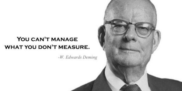 """""""Você não pode gerenciar o que não pode medir"""". - Será?"""