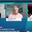 Trilogy of Data, analytics, AI is accelerating innovation across industries