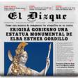 Erigirá gobierno una estatua monumental de Elba Esther Gordillo
