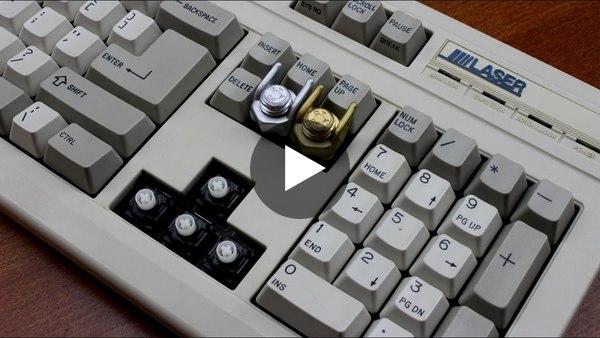 Laser 2269 keyboard review (SMK 2nd gen Cherry mount)