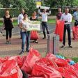 50 Säcke voller Unrat: Wolfsburger Werker räumen auf