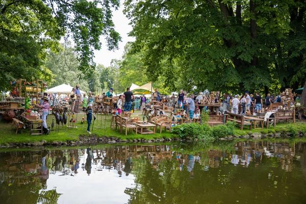Das Gartenfestival im Georgengarten steht an. (Foto: Moritz Frankenberg)