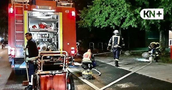 Unwetter in Kiel: Dutzende Einsätze der Feuerwehr