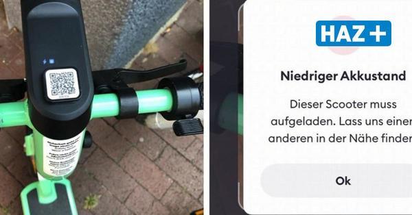 Rund 300 Bolt-Scooter stehen in Hannover bereit - aber oft sind die Akkus leer