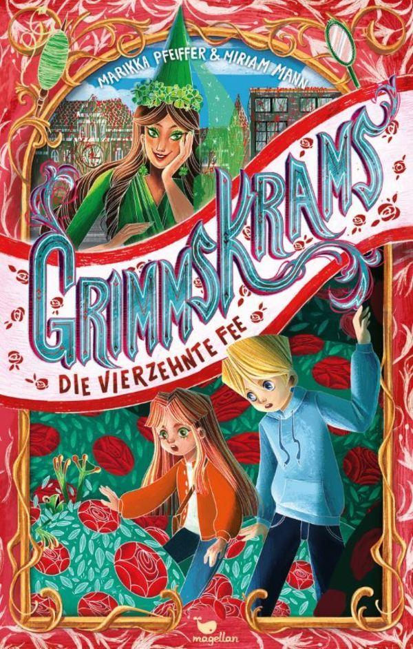 """Der zweite """"Grimmskrams""""-Band heißt """"Die vierzehnte Fee""""."""