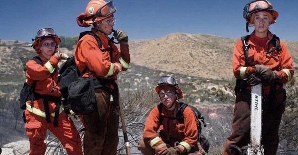 How Prisoners Fight California Wildfires