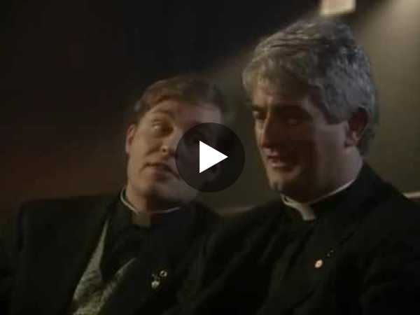 Father Ted at the cinema