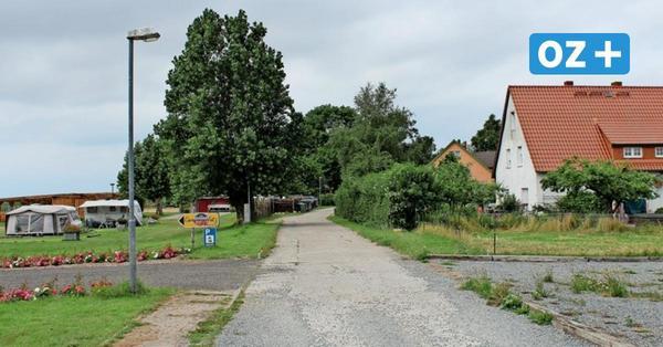 Diedrichshagen: Zum Campingplatz gibt's im Dorf verhärtete Fronten