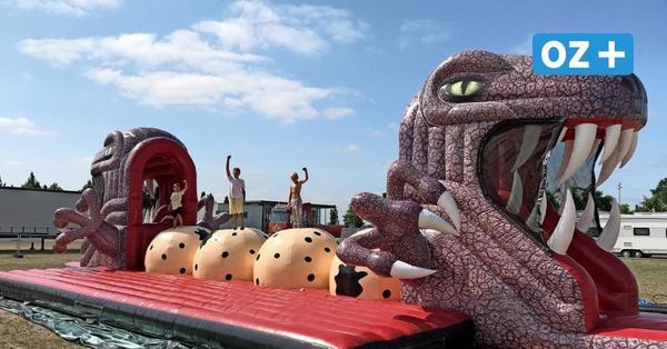 Erst Rostock, jetzt Wismar: Warum eine Zirkusfamilie mit 16Mega-Hüpfburgen durch MV zieht