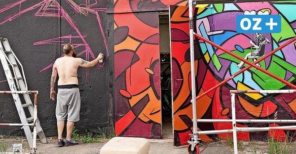 Besser als Banksy? Wie ein Kölner die Stars der Streetart-Szene nach Rügen lotst