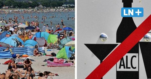Scharbeutz reagiert auf Randale: Nachts ist Alkohol am Strand verboten