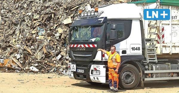 Hochwasser: So hilft der Müll-Profi aus Ostholstein in Rheinland-Pfalz