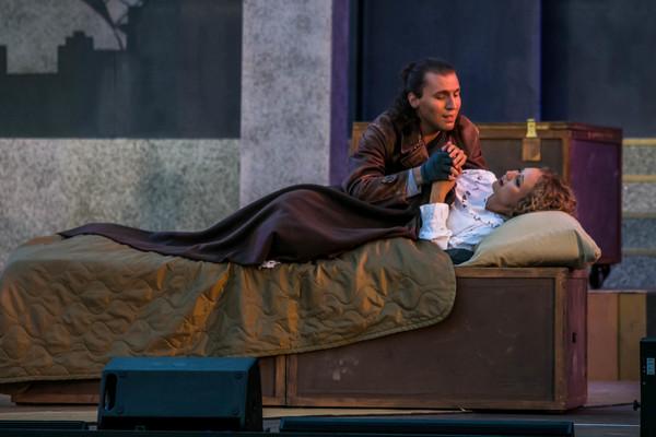 "Premiere auf der Eutiner Festspielbühne: ""La Bohème"" von Puccini. Foto: Peyronnet"