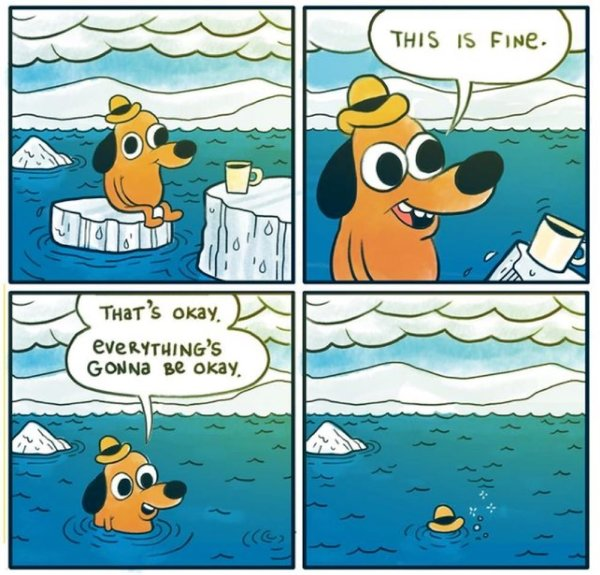 Everything is fine #ClimateChange