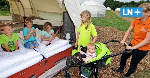 Luxus-Camping in Wacken-Zelten: Im Kreis Segeberg eröffnet erstes Glamping-Dorf auf einem Bauernhof