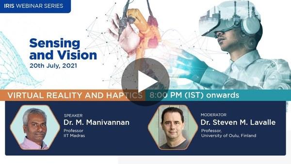 Virtual Reality and Haptics - Sensing and Vision Cluster