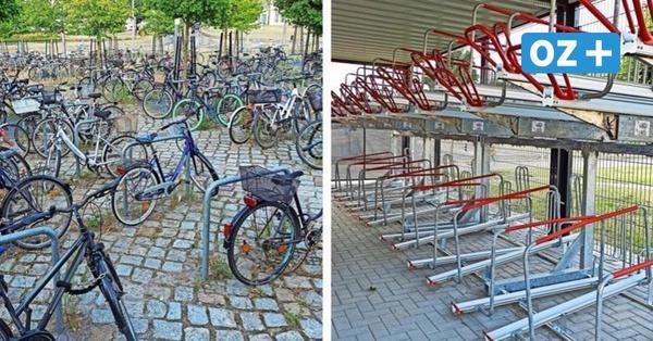 Ist die Radstation am Geifswalder Bahnhof ein Fall für das Schwarzbuch?