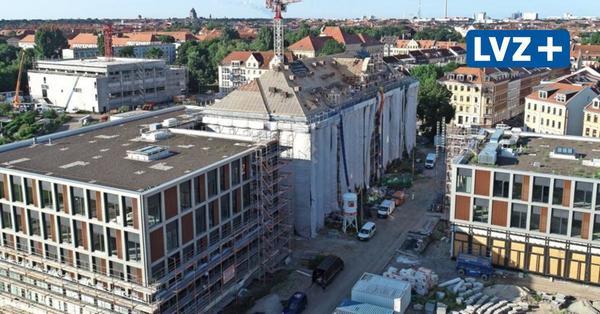 Sporthallen, Anbauten, neue Gebäude: Die Kräne drehen sich an Leipzigs Schulen